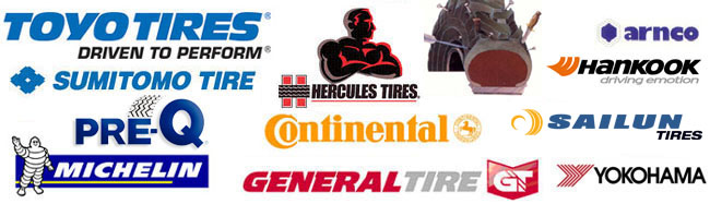 tire brands we carry