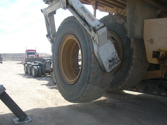 commercial tire change